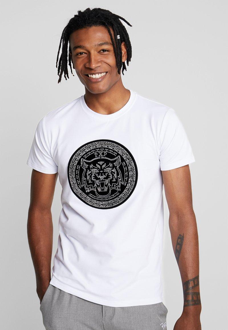 Project X Paris - COIN TEE - T-Shirt print - white