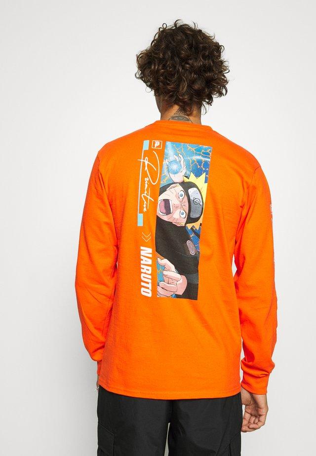 NARUTO COMBAT - Longsleeve - orange