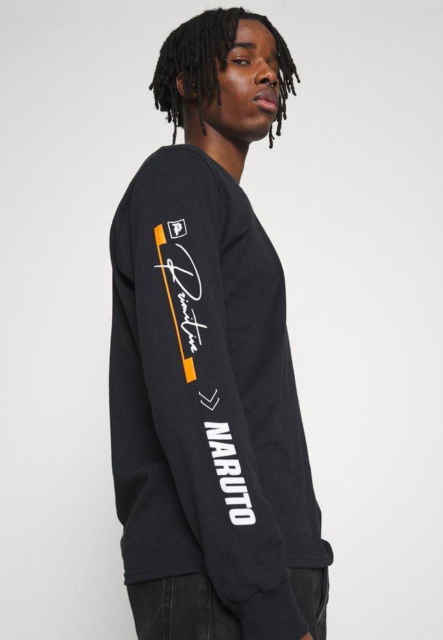 NARUTO COMBAT - Bluzka z długim rękawem - black