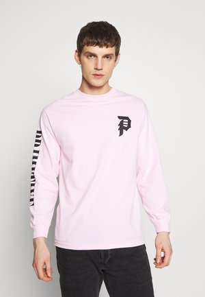 SHATTERED TEE - Long sleeved top - pink