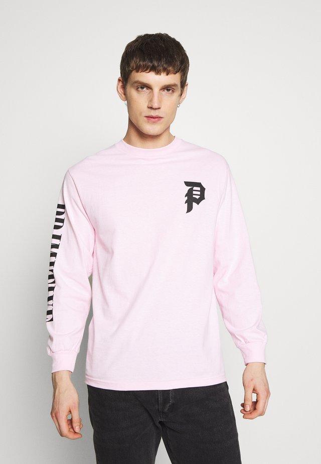 SHATTERED TEE - Longsleeve - pink