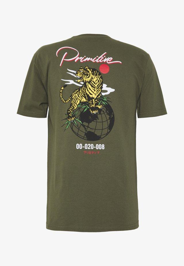 OSAKA TEE - T-shirts med print - military green