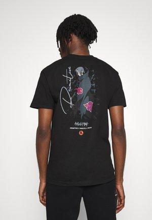 NARUTO CROWS TEE - T-shirt con stampa - black
