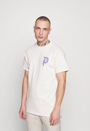 SHATTERED TEE - Print T-shirt - cream