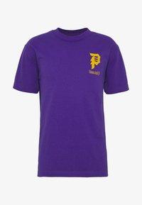 Primitive - TRUNKS GLOW DRAGON BALL Z - Print T-shirt - purple - 4
