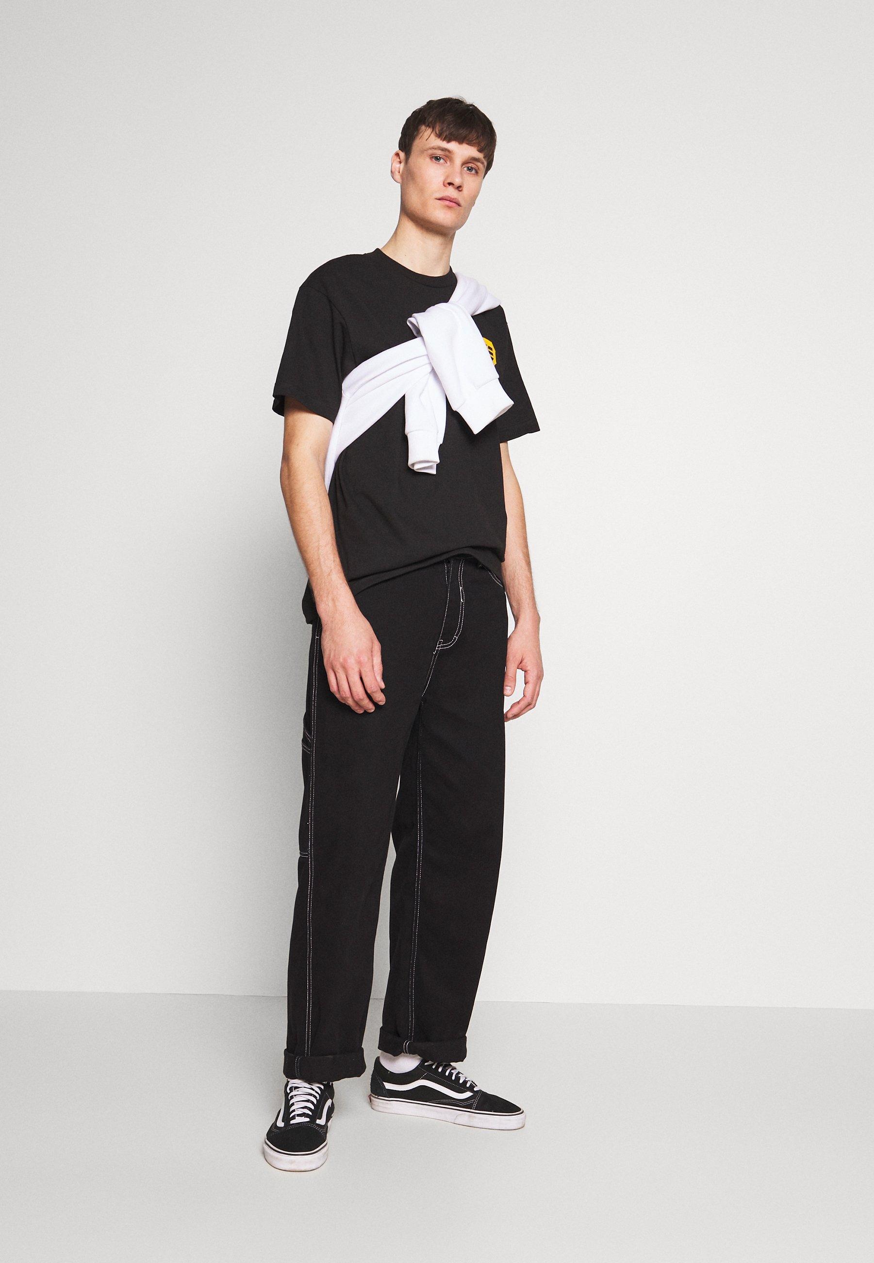 TRUNKS GLOW DRAGON BALL Z T shirt imprimé black