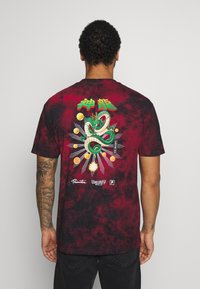 Primitive - SHENRON WISH WASHED DRAGON BALL Z - Print T-shirt - red/black wash - 2