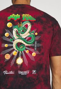 Primitive - SHENRON WISH WASHED DRAGON BALL Z - Print T-shirt - red/black wash - 3