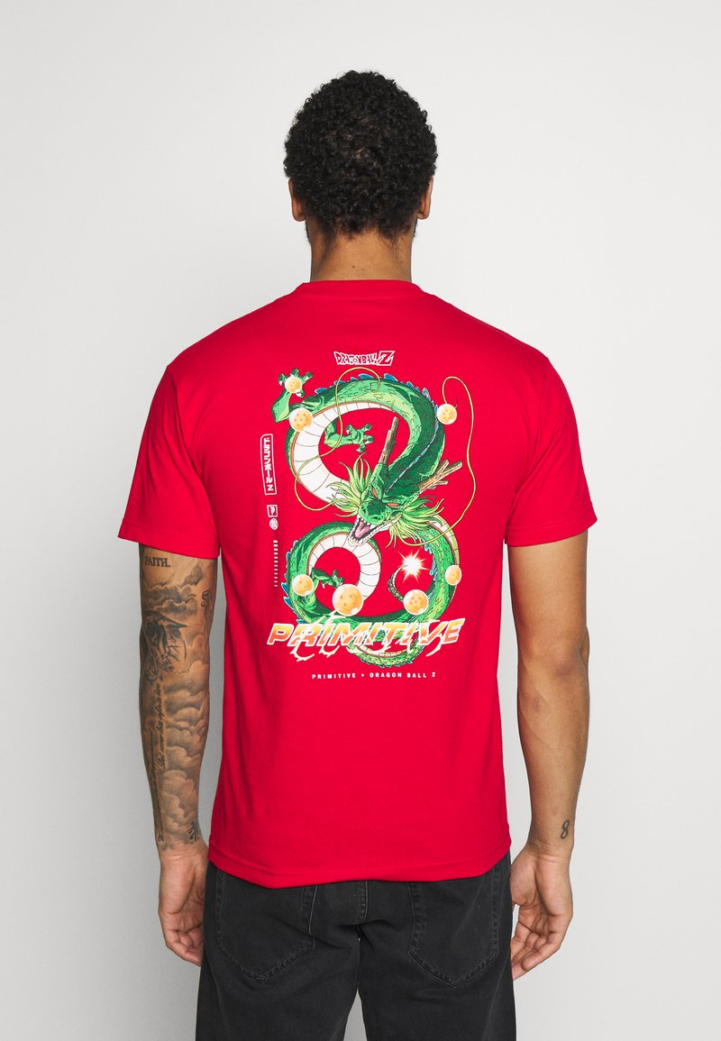 Primitive - SHENRON DIRTY DRAGON BALL Z - T-shirt print - red