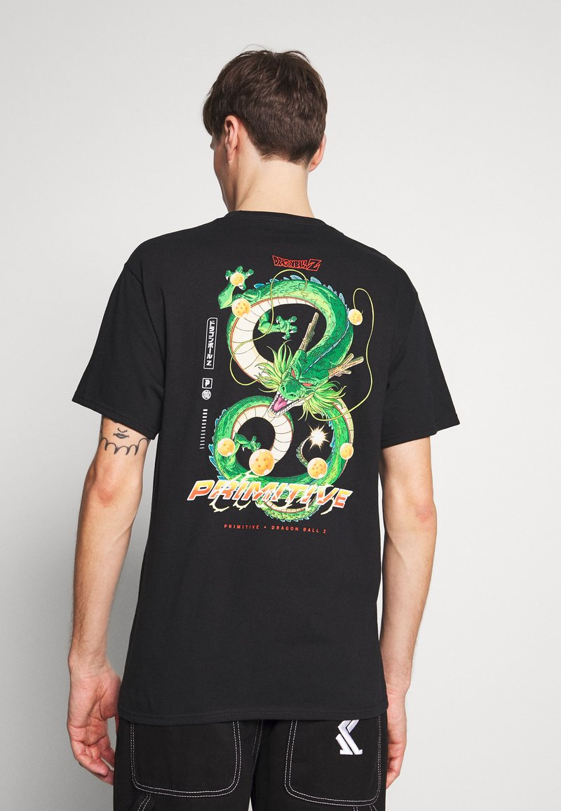 Primitive - SHENRON DIRTY DRAGON BALL Z - Triko s potiskem - black
