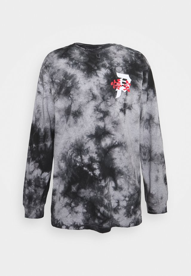 ENERGY WASHED - Long sleeved top - black
