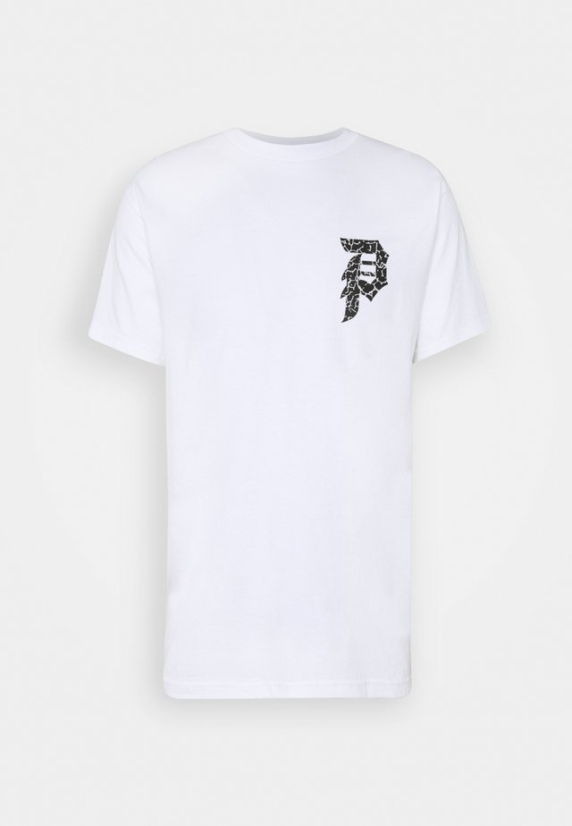 NARUTO DIRTY TEE - T-shirt print - white