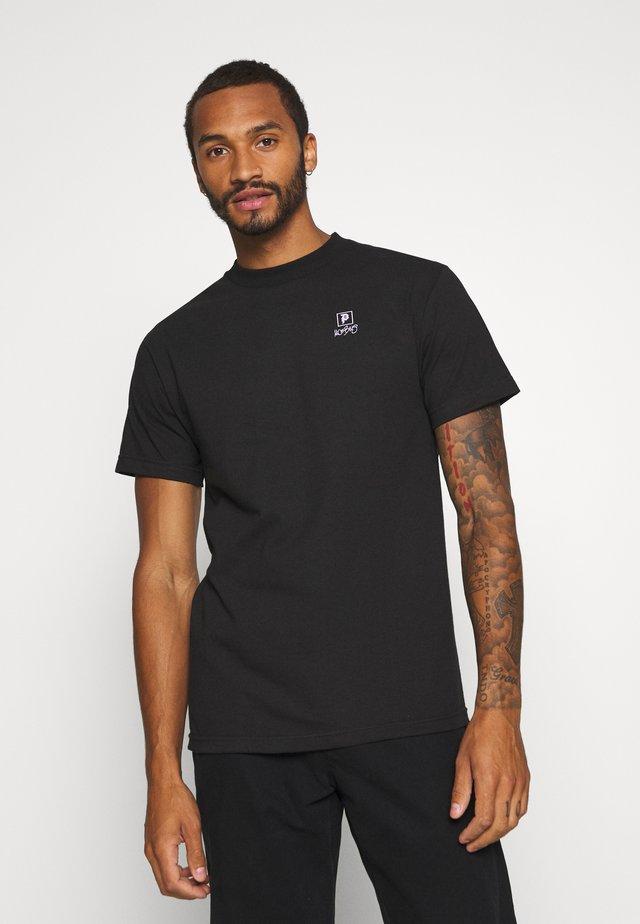 VOYAGE TEE - Print T-shirt - black