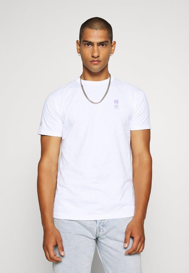 FAT BUU TEE - Print T-shirt - white