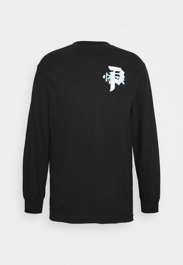ENERGY  TEE - Long sleeved top - black