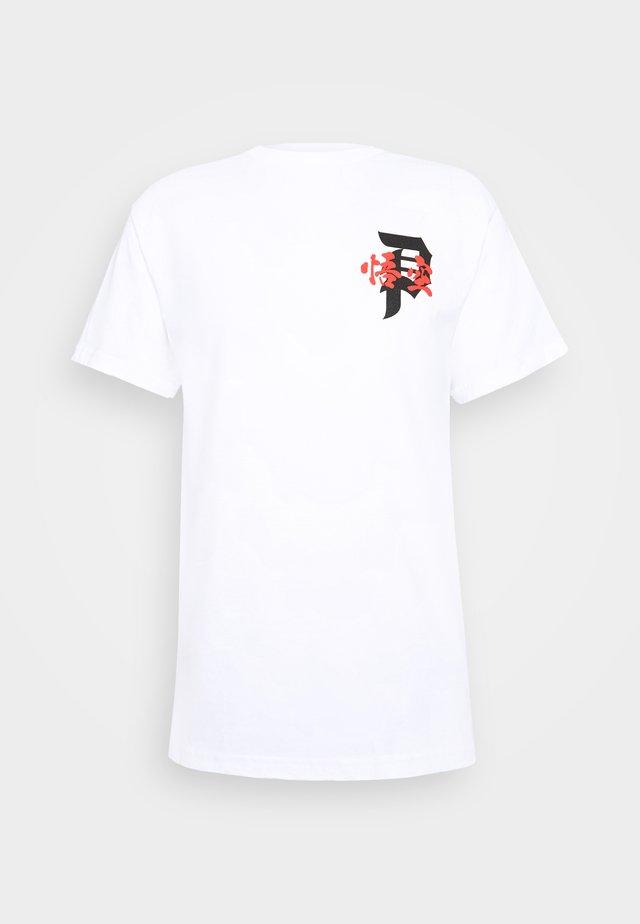 ENERGY TEE - Print T-shirt - white