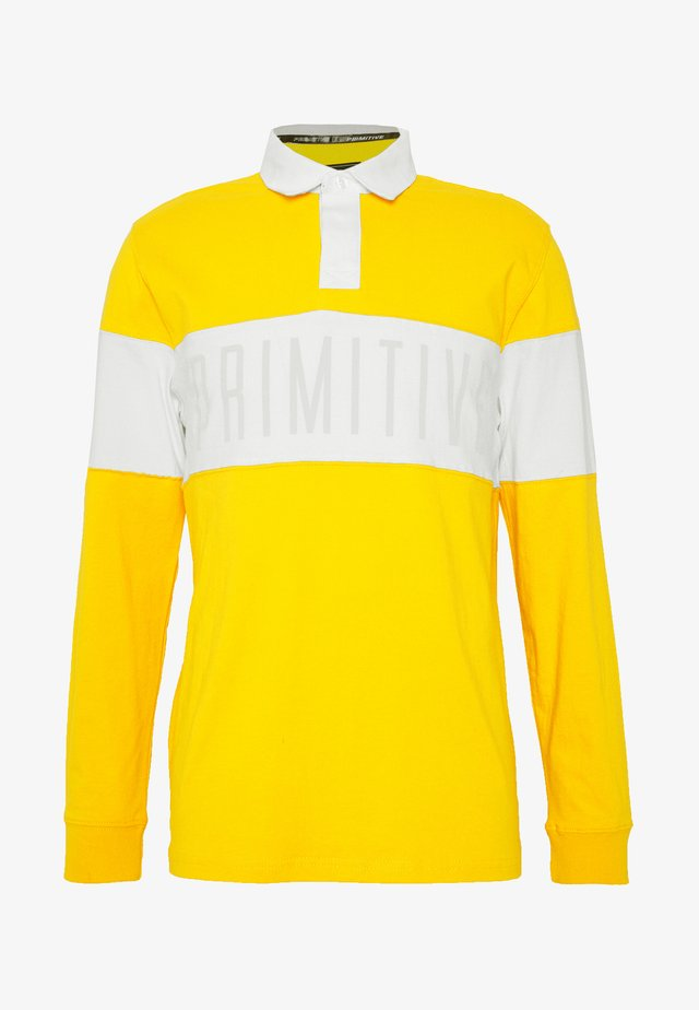 SPRINGFIELD - Polo shirt - yellow