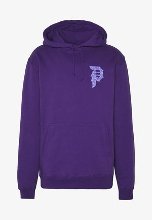 NARUTO SASUKE DIRTY P HOOD - Bluza z kapturem - purple
