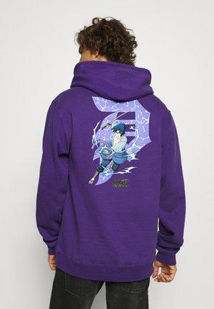 NARUTO SASUKE DIRTY P HOOD - Hoodie - purple