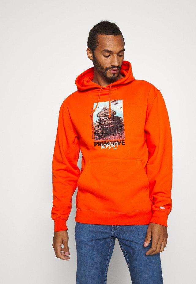 THING HOOD - Hoodie - orange