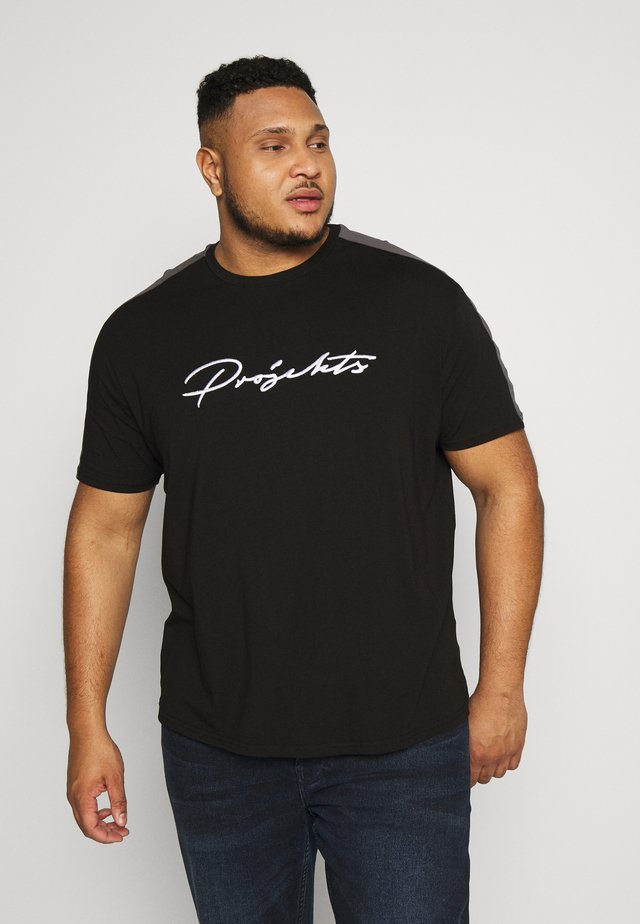 GATLIN SIGNATURE - Print T-shirt - black