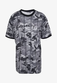 Projekts NYC - HARROW SIGNATURE IN CAMO - Print T-shirt - grey - 3
