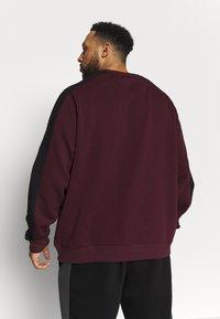 Projekts NYC - PROJEKTS DRAY SIGNATURE - Sweatshirt - burgundy - 2