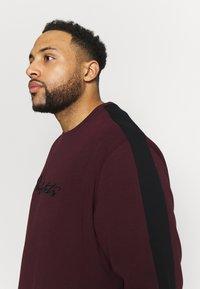 Projekts NYC - PROJEKTS DRAY SIGNATURE - Sweatshirt - burgundy - 3
