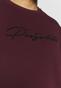 Projekts NYC - PROJEKTS DRAY SIGNATURE - Sweatshirt - burgundy - 5