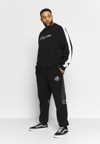 Projekts NYC - PROJEKTS DRAY SIGNATURE - Sweatshirt - black - 1