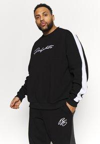 Projekts NYC - PROJEKTS DRAY SIGNATURE - Sweatshirt - black - 0