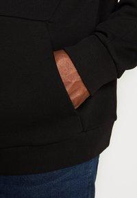 Projekts NYC - MCKINNON ZIP THROUGH TAPED HOODIE - Zip-up hoodie - black - 5