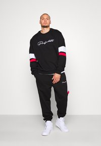 Projekts NYC - WILBERTON WITH CONTRAST TRIMS - Sweatshirt - black - 1
