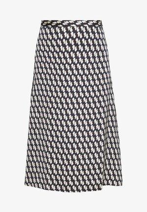 SKIRT - A-line skirt - retro navy
