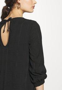 Progetto Quid - DRESS ABZA - Day dress - black check - 5