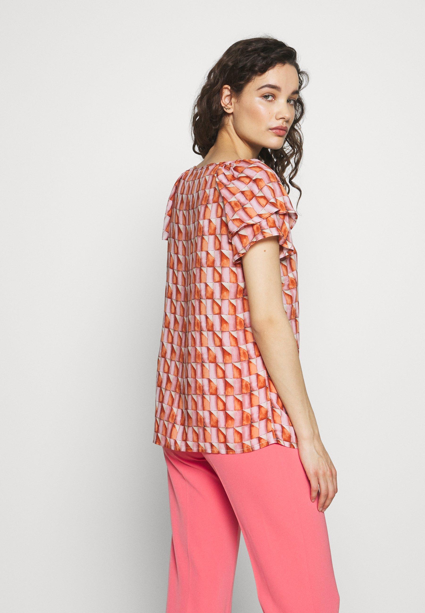 Progetto Quid Bluzka - pink orange
