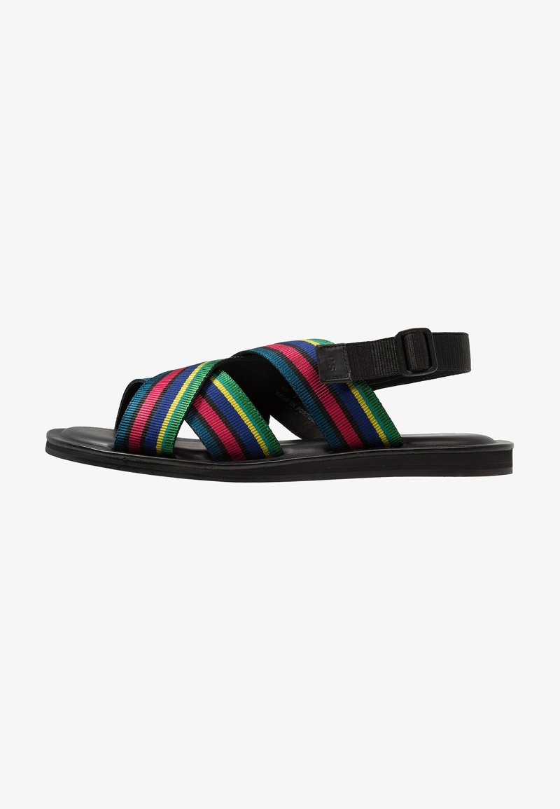 PS Paul Smith - PEDRO - Sandalias planas - multicolor