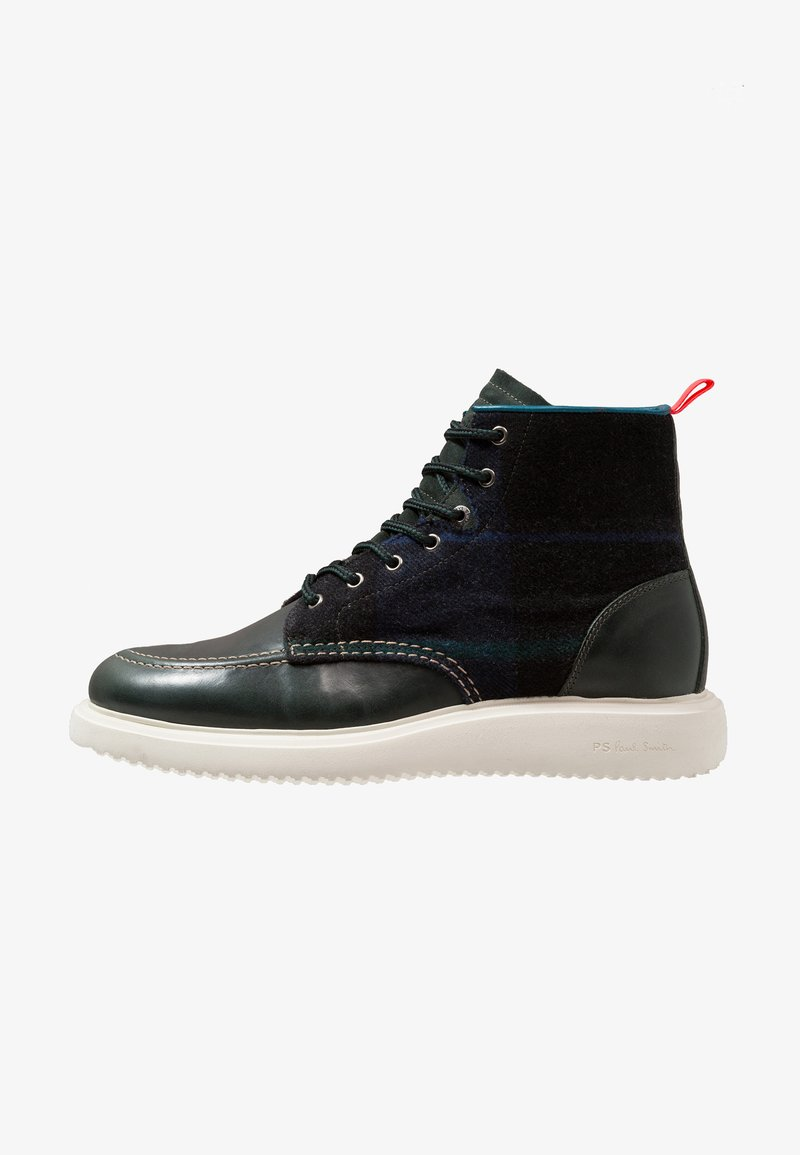 PS Paul Smith - CAPLAN - Bottines à lacets - petrol/green