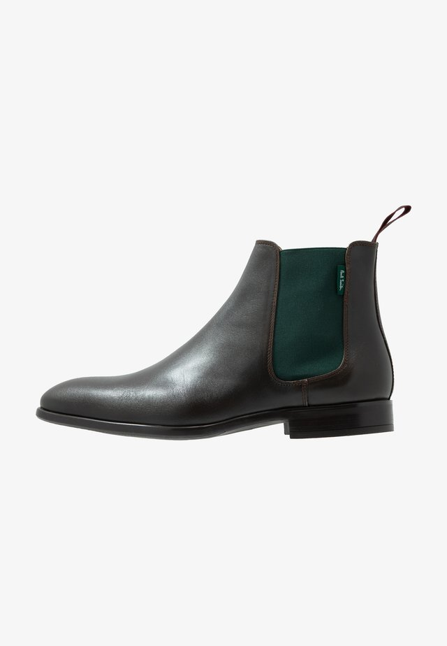 GERALD - Classic ankle boots - dark brown