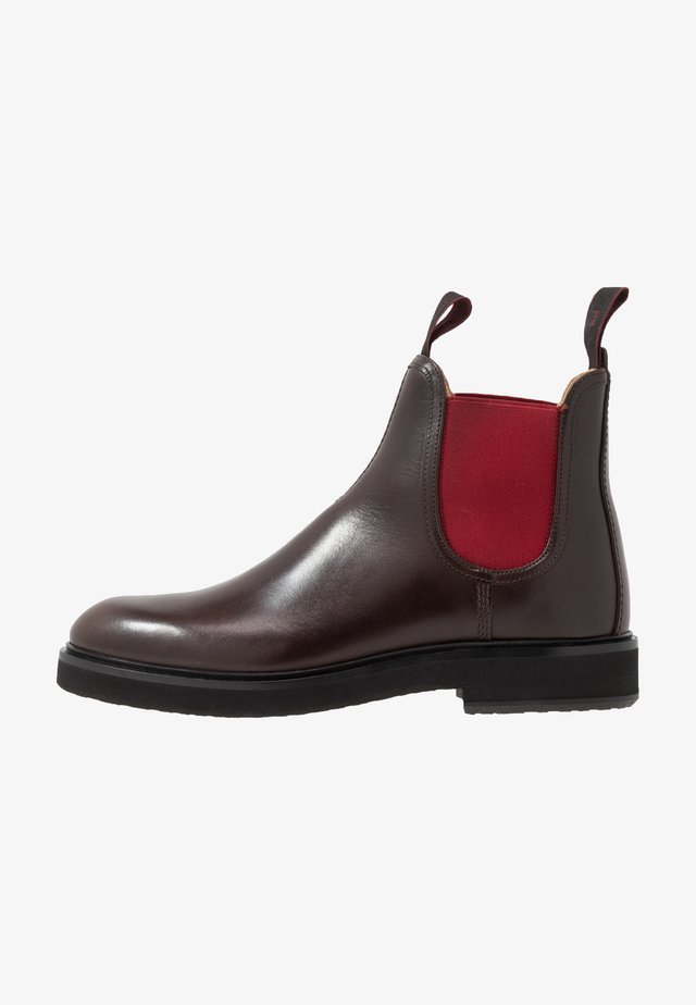 RIFKIN - Classic ankle boots - dark brown