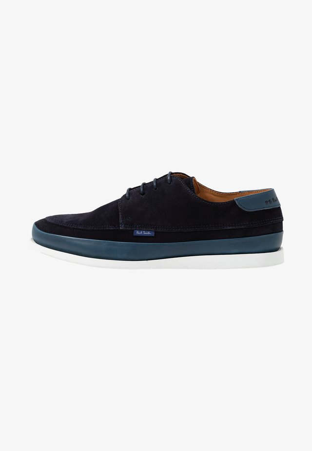 BROC - Sporty snøresko - dark navy