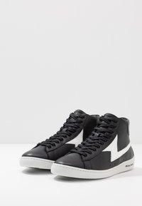 PS Paul Smith - ZAG - Sneakersy wysokie - black - 2