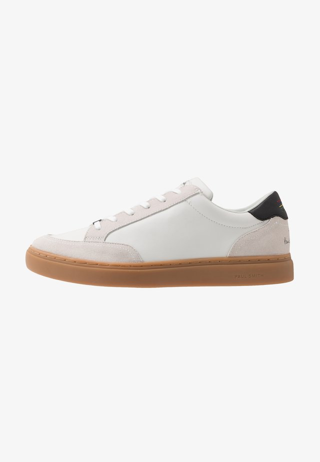 TROY - Sneakersy niskie - white