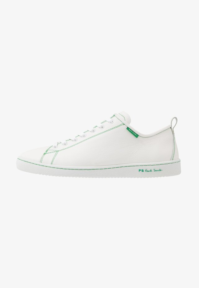 MIYATA - Baskets basses - white/green