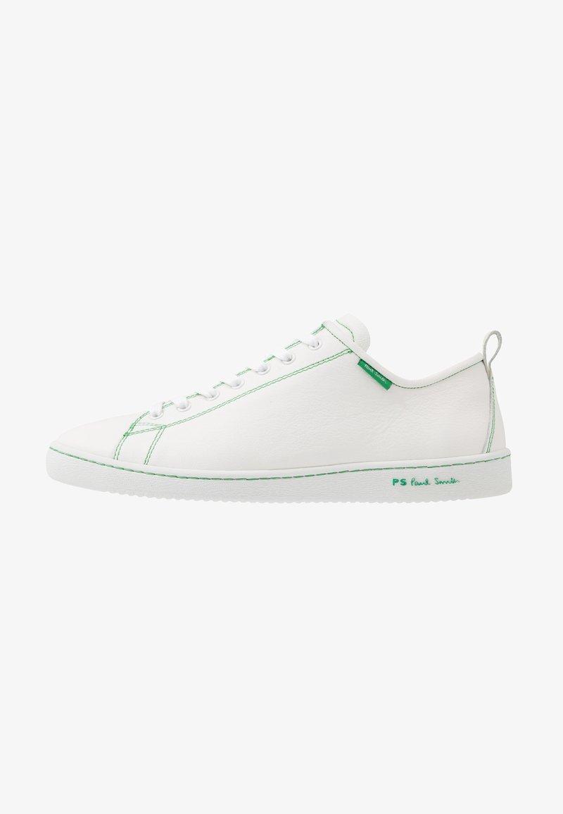 PS Paul Smith - MIYATA - Sneakersy niskie - white/green