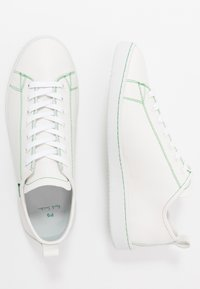 PS Paul Smith - MIYATA - Sneakersy niskie - white/green - 1