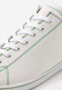 PS Paul Smith - MIYATA - Sneakersy niskie - white/green - 6