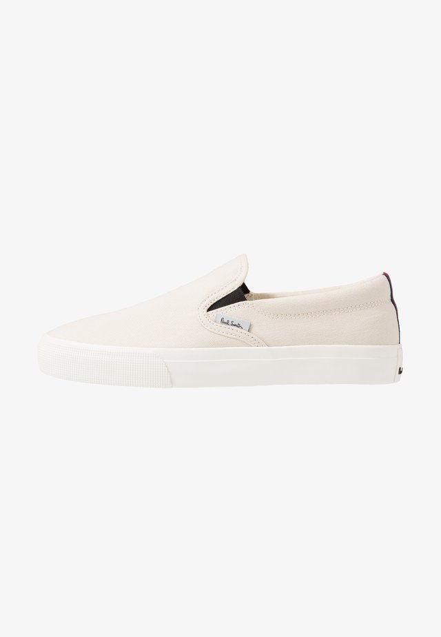 EXCLUSIVE PHILO - Loaferit/pistokkaat - offwhite