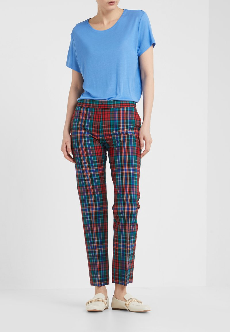 PS Paul Smith - Pantalones - red/multi-coloured