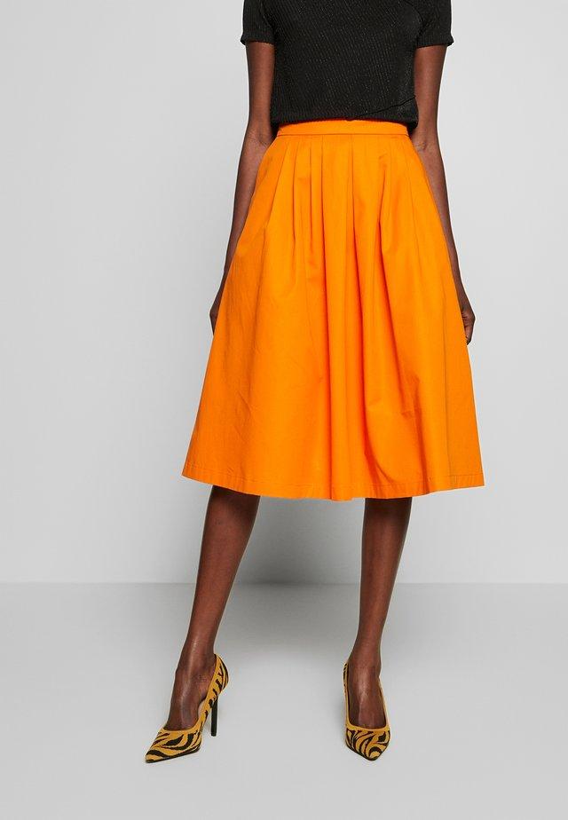A-linjainen hame - orange